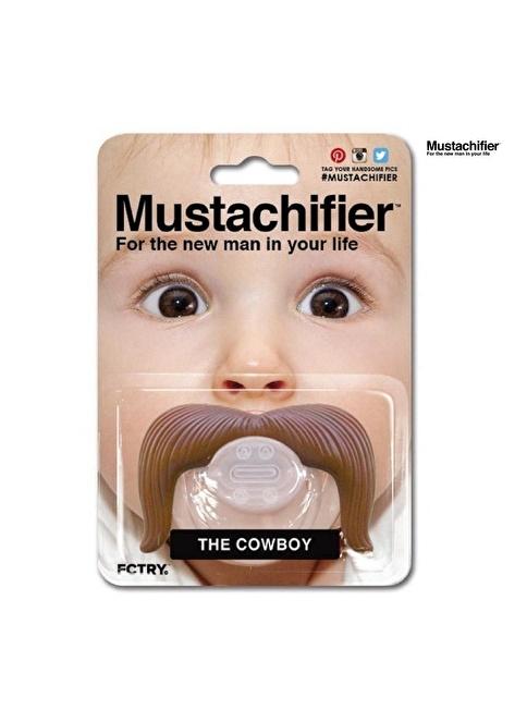 Mustachifier Mustachifier Kutulu Bıyıklı Emzik - Kovboy Renkli